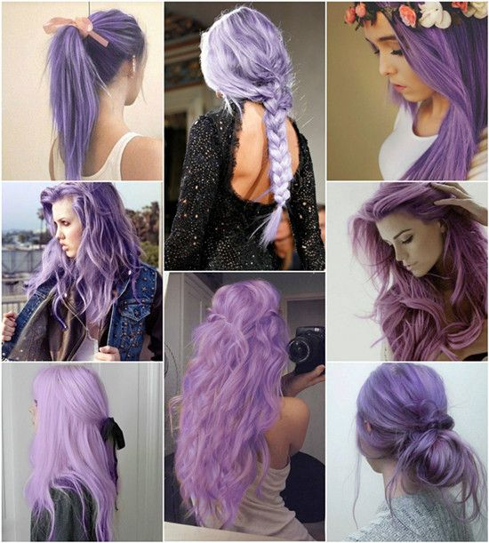 Before You Ask For Purple Hair... - Hair Salon